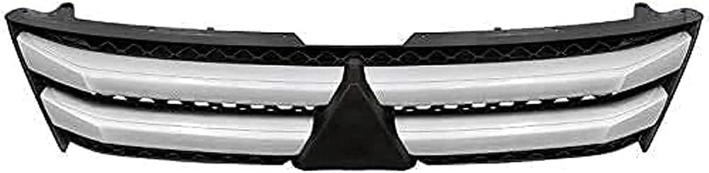 FWC Rejilla Delantera De Coche para Mitsubishi Eclipse Cross 2017-2020, Parachoques, Rejillas De Radiador Frontal De Malla De Panal, Accesorios De Cubierta De Parrilla, Máscara De Parrilla, Estil