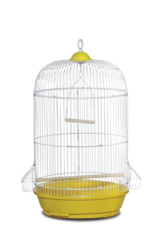 Prevue Hendryx SP31999Y Classic Round Bird Cage, Yellow