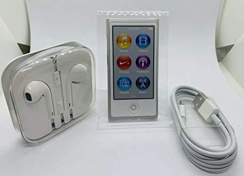 Apple iPod Nano 16 GB, 7ª generación Silver, Accesorios incluidos (Non empaquetado al por Menor)