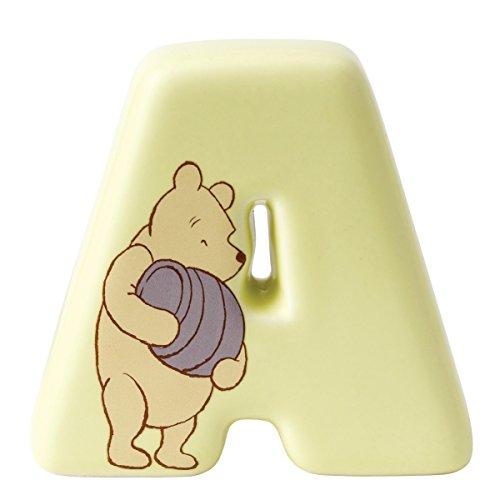 Lettre A Winnie the Pooh - article en céramique