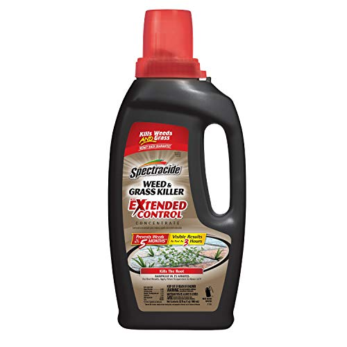 Spectracide 511071 Weed and Grass Killer with Extended Control Concentrate, 32 fl oz, Brown/A