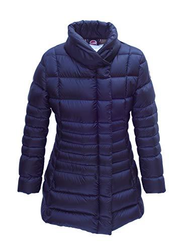 COLMAR Leichter Winter Daunen Mantel 3494 Mädchen, Blau (68), Größe 10 Jahre / 140
