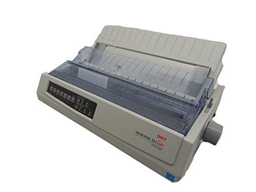 OKI 62411701 Microline 321 Turbo Dot Matrix Impact Printer