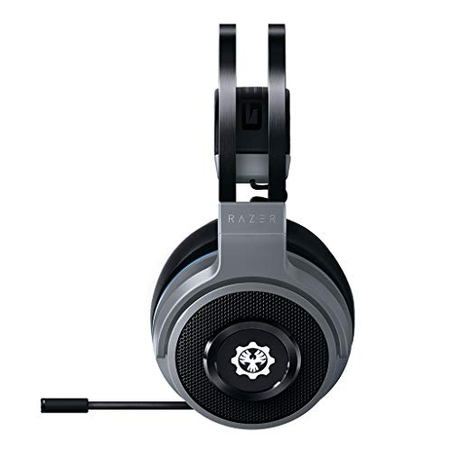 Razer Thresher Xbox One (Gears of War 5 Edition) - Wireless Gaming Headset für Xbox One & PC (Kabellose Kopfhörer, bis zu 16 Stunden Akku-Laufzeit, 50-mm Treiber, Windows Sonic) Schwarz-Grün