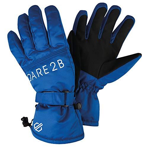 Dare 2b Gants de Ski Homme imperméables, Respirants et isolants avec Paume texturée et Poignets Ajustables Gloves, Oxford Blue, FR (Taille Fabricant : XS)