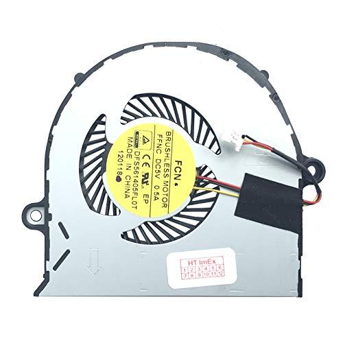 Lüfter/Kühler Fan kompatibel mit Acer Aspire E5-573-51VL, E5-573G-34B3, E5-573TG-78KZ, E5-573-51K2, E5-573G-33XJ, E5-573G-7239, E5-571-36CL, E5-571G-50V1, E5-571G-70W2
