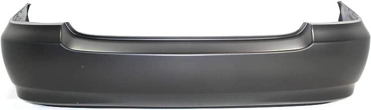 Rear Bumper Cover for TOYOTA COROLLA 2003-2008 Primed CE/LE Models Japan/USA Built