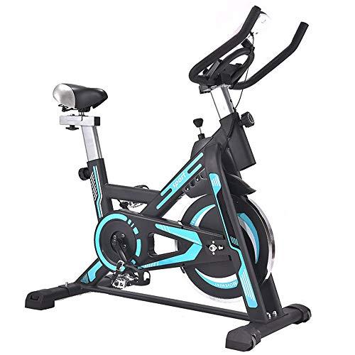 Yingm Bicicleta de Spinning Fitness Indoor Hogar silencioso de Bicicleta de Ejercicios Montar Bicicleta estática for Ejercicio aeróbico Entrenamiento de la Bici Sigue Moviendote