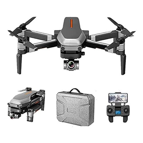 JAJU Drone quadricottero con videocamera Video in Tempo Reale, Quadcopter WiFi FPV con 120 Gradi, decollo/atterraggio con Un Pulsante, Fotocamera FOV 1080p HD Drone Pieghevole RTF -25 Minuti di Volo