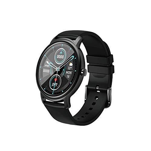 ZEYUE Mibro Air Smart Watch, HD Touchscreen 12 Sport-Modi IP68 Wasserdicht Bluetooth 5.0 Schlafüberwachung Bio Herzfrequenz Tracker Vollmetall Design Uhr