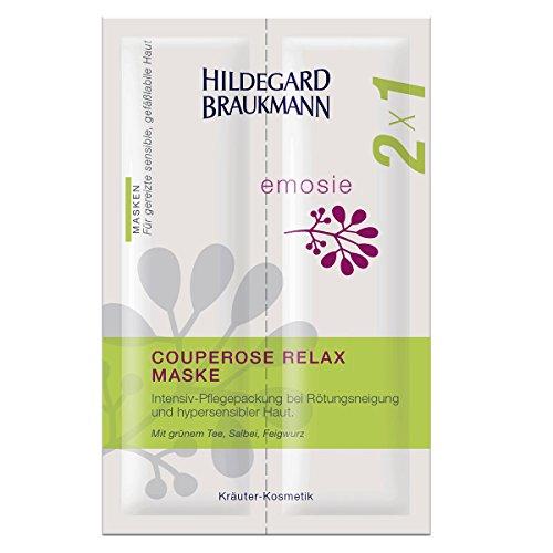 Hildegard Braukmann Emosie Couperose Relax Maske 2x7ml, 3er Pack