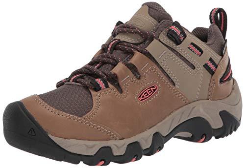 KEEN Women's Steens WP Hiking Shoe, Brown, 9