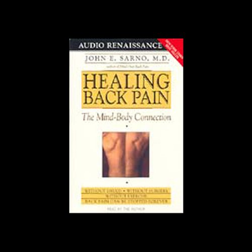 Healing Back Pain audiobook cover art