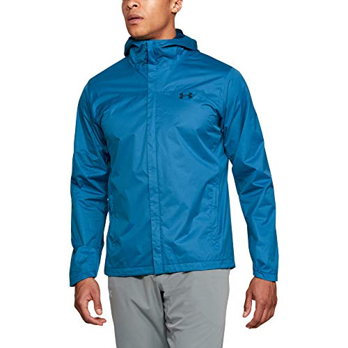 Under Armour Men's Bora 2l Lined Shell Hoodie, Cruise Blue (899)/Moroccan Blue, X-Large