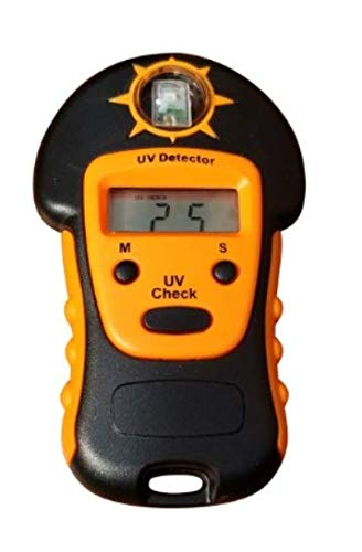 Nextav UV Detector for Measuring Sun Light UV Level - Portable Handheld Sun Light UV Detector (3A)