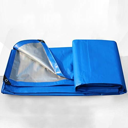 CKH Tissu Imperméable Épaississant Isolation Tissu Imperméable Bâche De Protection Solaire Imperméable Auvent Tissu en Plastique Tissu Poncho Bâche Bâche (Size : 3 * 5 Meters)