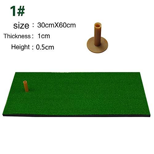 TOPmountain Tappeto da Allenamento per campi da Golf, Tappeto da Golf con Tee da Golf, per casa/Cortile/Garage/Interno/Esterno