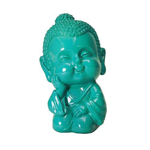 trendaffe Baby Buddha Spardose in türkis - Baby-Buddha Sparbüchse Sparschwein