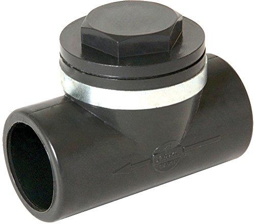 clapet anti-retour pvc pression - femelle / femelle - diamètre 40 mm - nicoll carh