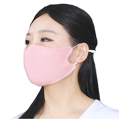 Shineshae Erwachsene Frauen Atmungsaktive Waschbar Staubdicht Mundschutz Anti Spray Smog Face Cover Wiederverwendbar Mouth Cover Atemschutz