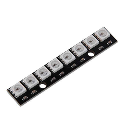 Ashley GAO WS2812 WS 2811 5050 RGB-LED-Lampenmodul 5V 8-Bit-Regenbogen-LED Präzises 8-Bit-5050-Vollfarben-LED-Modul