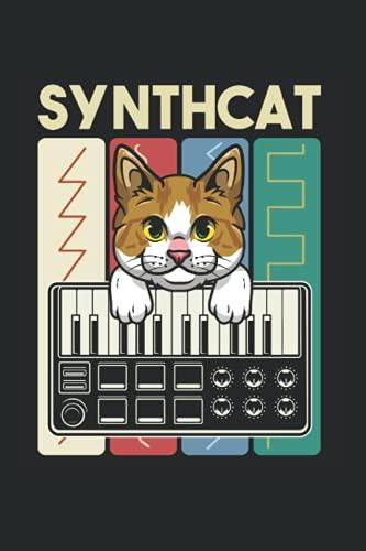 Kalender 2022: Modularer Synthesizer Analog Vintage Cat Wellenform Terminkalender DIN A5 Organizer mit 120 Seiten | Notizbuch Terminplaner Wochenkalender Jahresplaner Jahreskalender