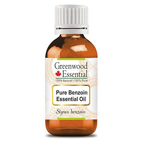 Greenwood Essential - Aceite esencial de benjuí (Styrax benzoin) 100% natural de grado terapéutico extraído mediante destilación por arrastre de vapor, 30 ml
