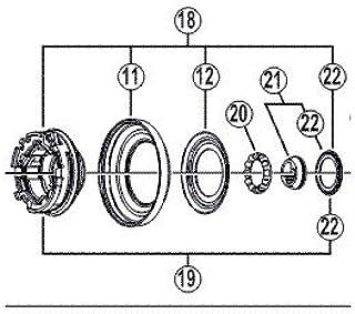 MC32 MC38 MC30 M525 Y-3AE98030 Le Bonnet DE POUSSIERE FHMC33 SHIMANO KONUS M10X16