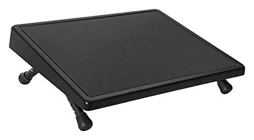 Wedo - 103211501 - Repose-pieds informatique réglable - Noir