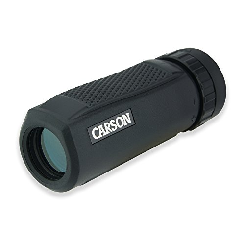 Carson - Monocolo impermeabile BlackWave, 10 x 25 mm