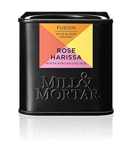 Mill & Mortar Rose Harissa - nordafrikanischer Chili-Rub - Bio - 50 g