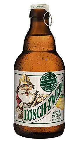 20 Flaschen Lösch Zwerg natur Radler natürtrüb 2,6% Vol. a 0,33l inc. 1.60€ MEHRWEG Pfand