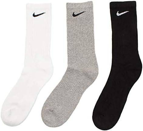 Nike unisex-adult Unisex Nike Everyday Cushion Crew 3 Pair