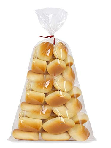 APQ Pack of 100 Gusseted Poly Bags 6 x 3 x 12. Cloudy Polyethylene Bags 6x3x12. 2 Mil. Expandable Side Gusset Bags. Open Ended Bags for Industrial, Food Service, Health Needs.