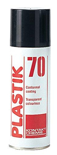 KONTAKT CHEMIE - K70/200 74309 70 Schutz- und Isolierlack, 200 ml 493470