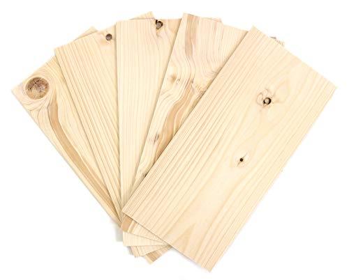 Wodewa Juego chapa madera Pino 4mm espesor 30 x 14cm