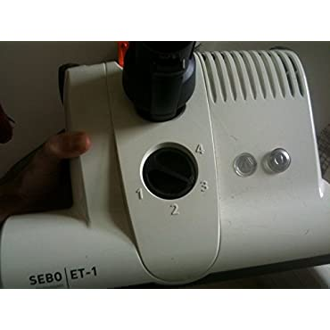 Sebo 9258AM Vacuum Power Head Features White Finish