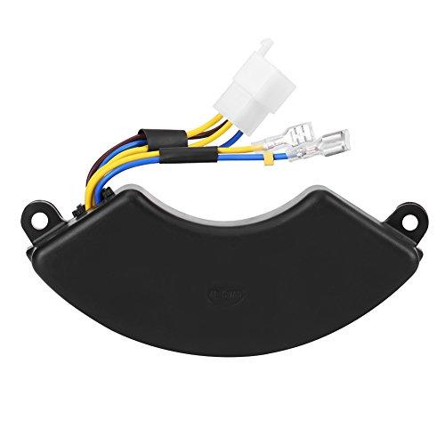 Regulador de voltaje - Regulador de voltaje automático en forma de arco AVR para generador de gasolina de 2 fases y 6 cables de 6.5KW 7KW 8.5KW
