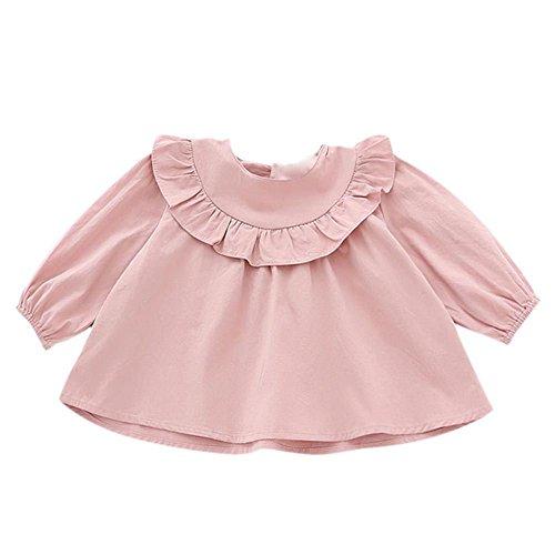 Brightup Baby Mädchen Blusen Tops, Kleines Mädchen Langes Hülsen Hemd, Scherzt Herbst Outfit Kleidung