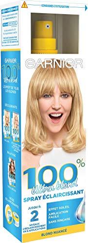 Garnier 100% Ultra Blond Spray Éclaircissant Naturel & Progressif, Effets Méchés,...