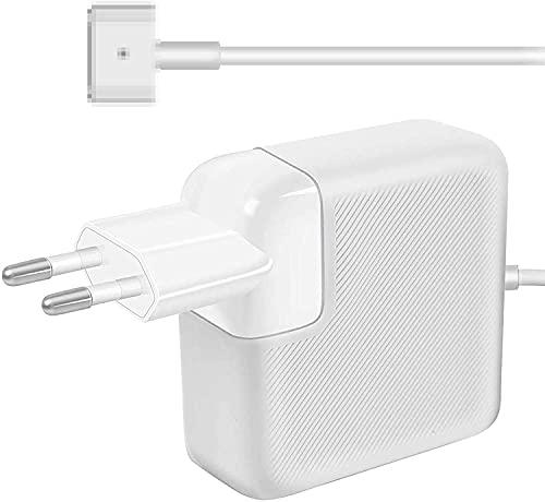Compatibile con Mac Pro Alimentatore 85W Magsafe 2 T-tip Magnetico Caricabatterie, A1425 A1435 1502 Mac Book PRO 13 Retina [2013 2014, Inizio 2015]