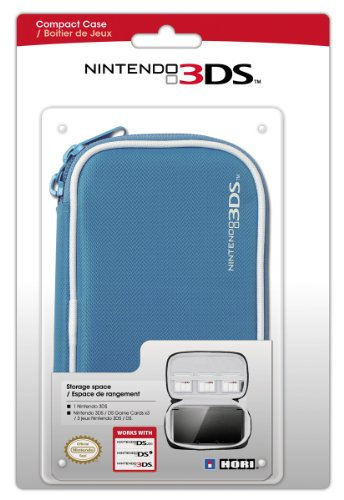 Hori Officially Licensed 3DS Compact Pouch (Blue) (Nintendo 3DS/DSi/DSL) [Edizione: Regno Unito]