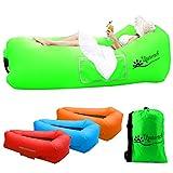 Wasserdichtes Aufblasbares Sofa, Luftsofa Couch, im Freien Tragbare schnelle Aufblasbares Liege...