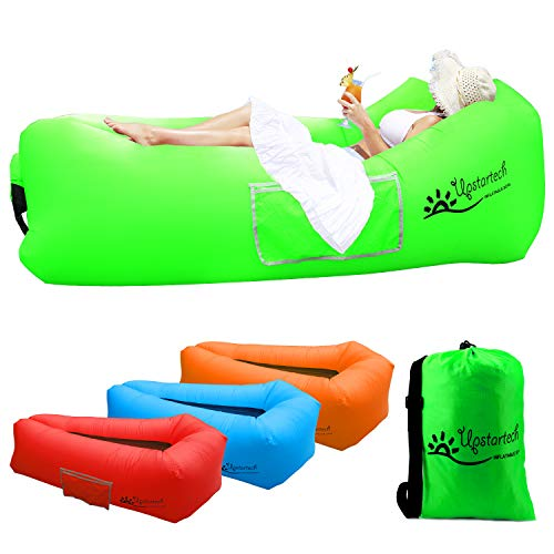Waterproof Bean Bag Waterproof Air Lounger Inflatable Couch Outdoor Sofa Air Couch For Camping Saibit Inflatable Sofa