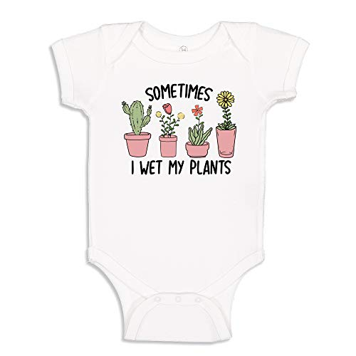 I Wet My Plants Toddler T-Shirt 2T White