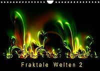Fraktale Welten 2 (Wandkalender 2022 DIN A4 quer): Berechnete Bilder von faszinierender Vielfalt (Monatskalender, 14 Seiten )