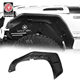 u-Box Fender Flares Tubular Wheel Armor for 2007-2018 Jeep Wrangler JK- Front & Rear Kit