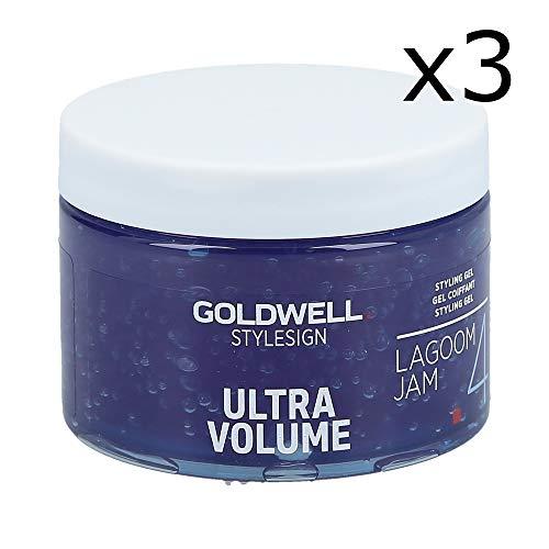 3er Set: Goldwell StyleSign Volume Lagoom Jam 150 ml
