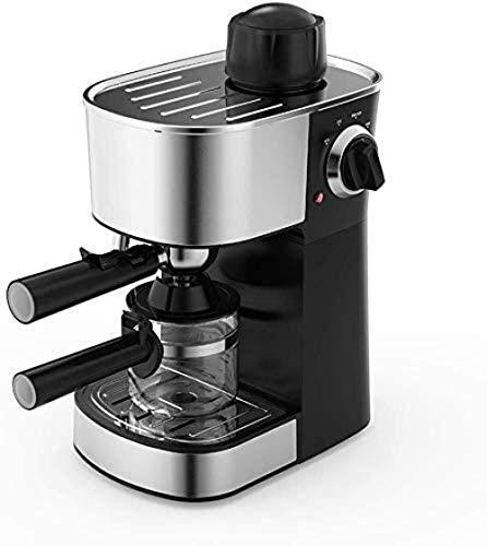 Máquina de café espresso con brazo espumoso de leche, 5 bar, 240 ml, bandeja antigoteo extraíble, 800 W