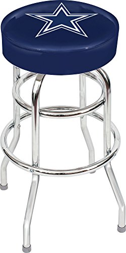 "Imperial Officially Licensed NFL Furniture: Swivel Seat Bar Stool, Dallas Cowboys, 30"" H Inches"